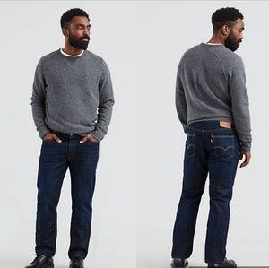 Levi's 541 32 x 32 Denim Pants Dark Gray- Black